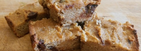 Sweet Potato Protein Chocolate Chip Cookie Bar (Low Carb)